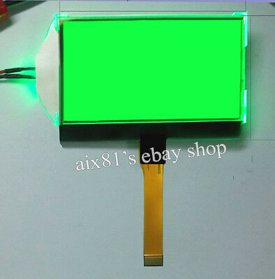 12864 Character LCD Display Module 128x64 Dots Graphic Matrix Green Backlight