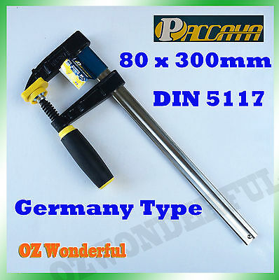 4 PCS Paccaya 80 x 300mm F Clamps Germany Type F Clamps High Quality