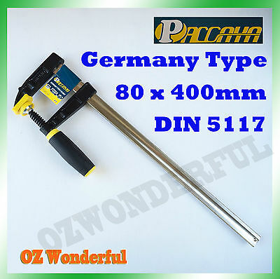 4 PCS Paccaya 80 x 400mm F Clamps Germany Type F Clamps High Quality