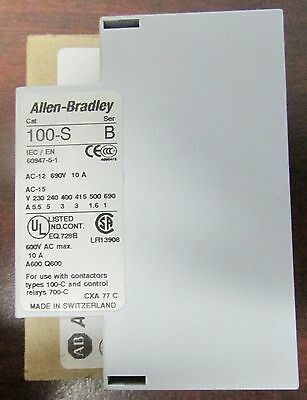 ALLEN BRADLEY Side Mount Auxiliary Contact 100 SA10