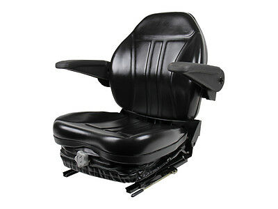 Suspension Seat W/ Arm Rests Ztr Zero Turn Mower,walker,grasshopper,hustler #kt