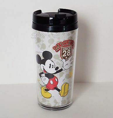 "Disney - Mickey Mouse ""Since '28"" 14 oz Travel Tumbler Mug"