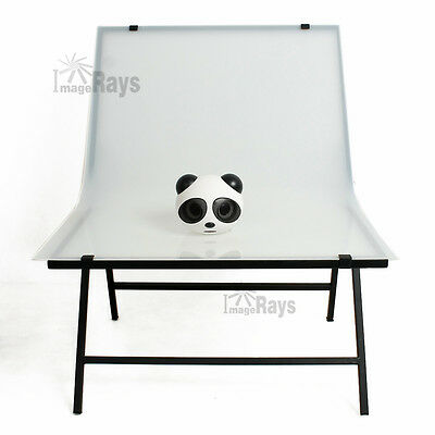 Portable Non-Reflective Foldable Easy Shooting Table for Product Photography