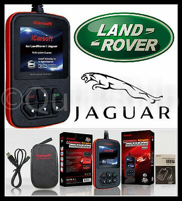 Jaguar Diagnostic Scanner Tool Srs Abs Check Engine Obd2 Erase Code Reader Scan