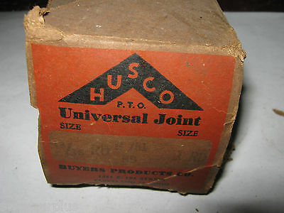 Husco Universal Joint, H-751, 13/16 RD x 1 RD, New