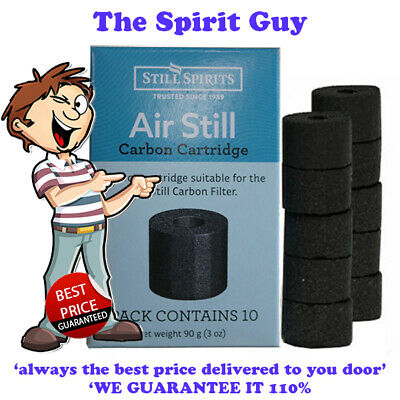 AIR STILL CARBON FILTER CARTRIDGES @ $6.99 each By STILL SPIRITS - 50309