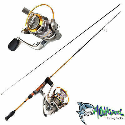 New Rod & Reel Combo  Fishing combo  spinning rod & reel  Fishing Tackle