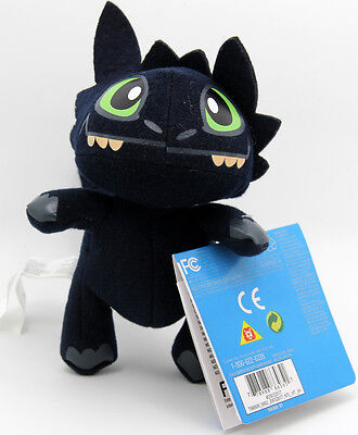 "How to Train Your Dragon Toothless Night Fury Soft Stuffed Toys Doll 17CM(6.7"")"