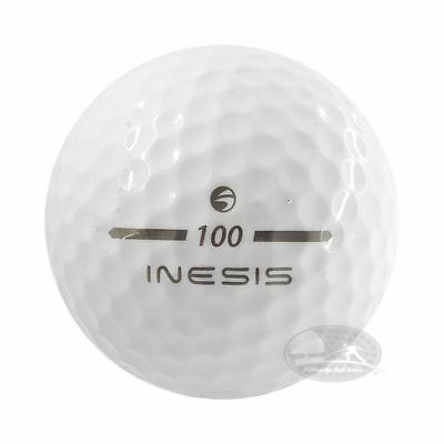 100 Inesis Mix Palline da golf usate Cat. 4-5 Stelle (AAA/PEARL) used golf balls