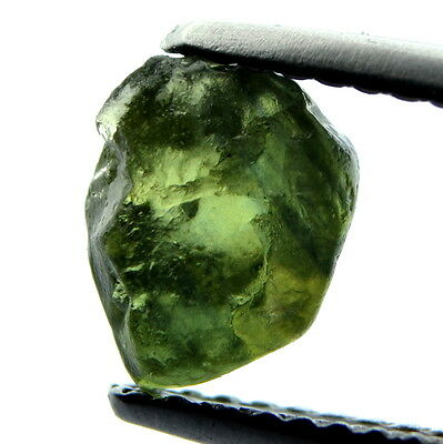 █50%OFF█ SUPERB NATURAL UNHEATED 1.84ct FACET ROUGH SAPPHIRE GREEN SI CLARITY