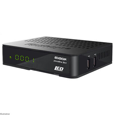 Edision Optimuss Underline 3 in 1 Combo Full HD S2 & T2/C Tuner Compact Size