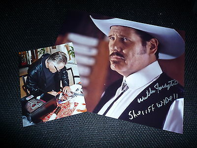 WILLIAM FORSYTHE signed Autogramm In Person 20x25 cm DEVIL´S REJECTS