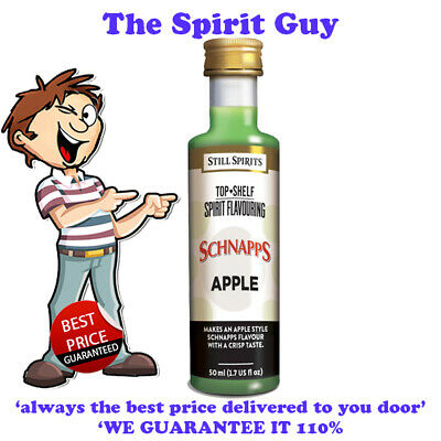 APPLE SCHNAPPS LIQUEUR ESSENCE @ $6.49 each By STILL SPIRITS - 35137