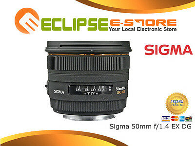 Brand New Sigma 50mm 50 mm F1.4 f/1.4 EX DG Lens for Canon