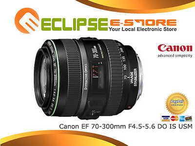 New Canon EF 70-300mm f/4.5/F4.5-5.6 DO IS USM