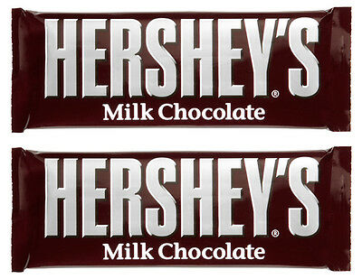 2 x Hershey's American Milk Chocolate Bar 43g each Free UK Delivery