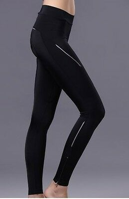 2015 Riding Women Cycling Tights 3D Padded Bicycle Trouser Bike Long Pant S-XXL