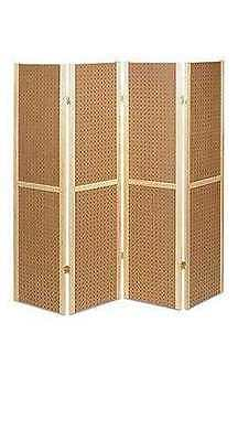 "Retail Craft Display 4 Panel 5' Tall Wood Pegboard Display 60 x 14.5"" Divider"