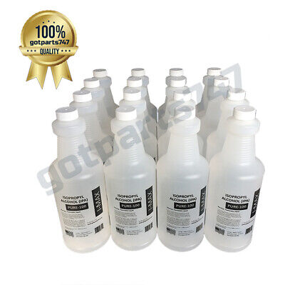 4 GALLON (16 quarts) Isopropyl Alcohol IMAX-PURE-100, HIGH PURITY IPA 99+%   A+
