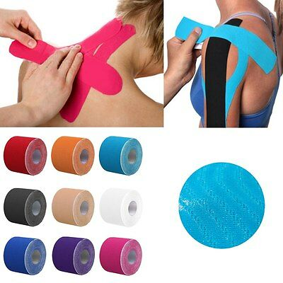 Athletic Muscle Support Sport Tape Physio Strapping Trainer Therapeutic Bandage
