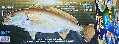 MULLOWAY - Fish Sticker Boat Decal