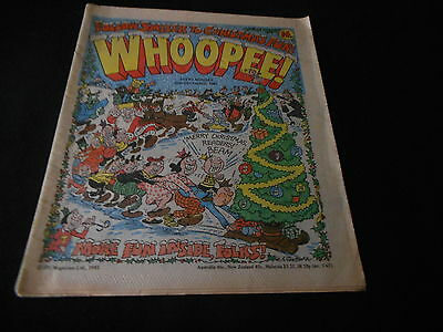 Whoopee Comic 26th December 1981