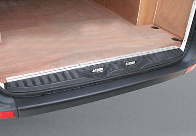 Black RGM Rear Guard Bumper Paint Sill Protector for Mercedes Sprinter (2006 on)