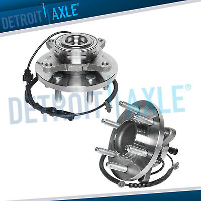 (2) Front Wheel Bearing & Hub Assembly for 2009 2010 Ford F-150 2WD w/ABS 6LUG