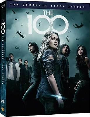 The 100 Complete First Season 1 One 1st (DVD,2014,3-Disc Set) NEW