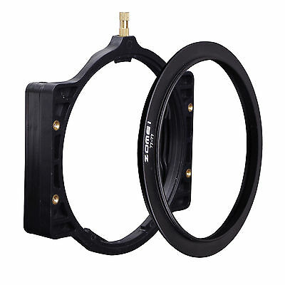 ZOMEI 100MM Square filter Holder+77MM ring for Cokin Z Hitech Lee Tiffen Series