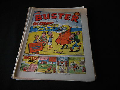 Buster Comic 20th October 1979 ideal birthday or christmas present