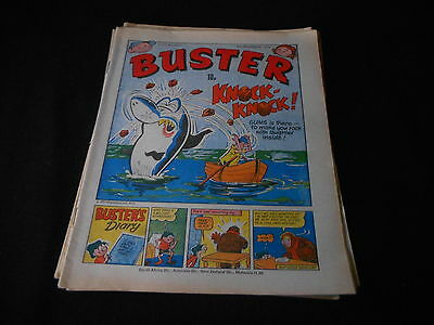 Buster Comic 8th December 1979 ideal birthday or christmas present