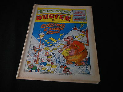 Buster Comic 22nd December 1979 ideal birthday or christmas present