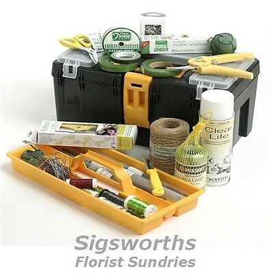 PROFESSIONAL OASIS FLORIST TOOL BOX KIT Flowers Floristry Floral Tools Scissors