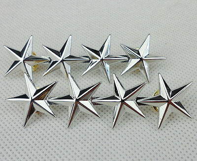 Us Military Army Air Force Four Stars General Rank Badge Pin Insignia-L0023