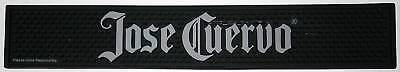 JOSE CUERVO Tequila black rubber bar mat with gray letters trough drip glass keg