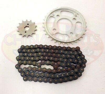 Heavy Duty Chain & Sprockets Set for Jinlun Texan 250-5