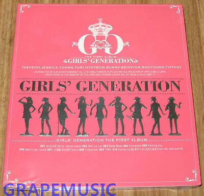 GIRLS' GENERATION SNSD 1ST Album K-POP CD SEALED