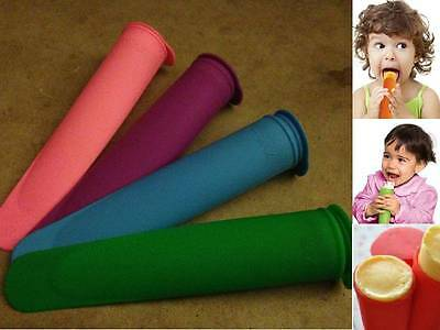 DIY Calipo Silicone Push Up Ice Cream Lolly Pop Jelly Popsicle Mold Mould Maker