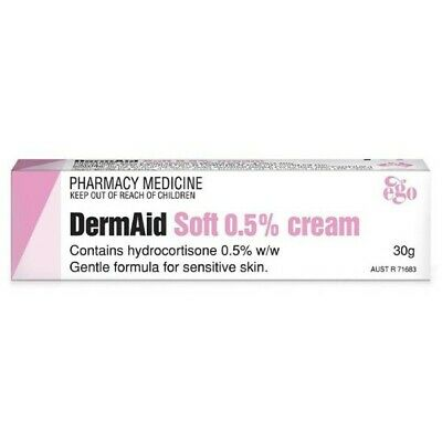 ツ Best Price! Ego Dermaid Soft 0.5% Cream 30G Hydrocortisone 0.5% W/w Derm Aid