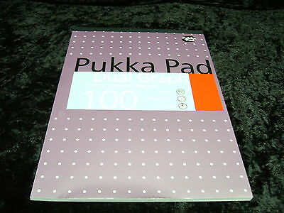 1 x Pukka Pad Dual Graph A4 100 Pages REFGRA 80 gsm Holes Punched