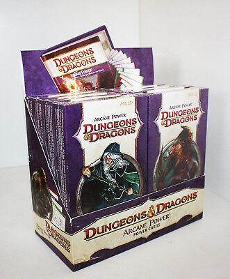 Dungeons & Dragons-Arcane Power-POWER CARDS-Power up your Spellcast-New-Neu-rare
