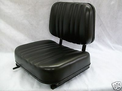 New Black Seat For Excavator,forklift,skid Loader,backhoe,dozer,telehandler #al