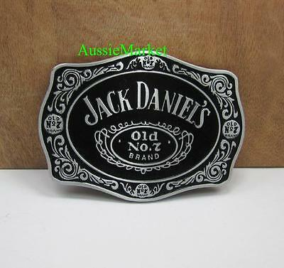 1 x mens ladies belt buckle quality metal alloy jeans fathers day gift black new