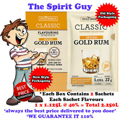 SPICED GOLD RUM SPIRIT ESSENCE @ $10.99 ea By STILL SPIRITS - 30166