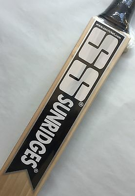SS Middler English Willow Cricket Bat (EYE-In bat), AU Stock, Free Ship & Extras