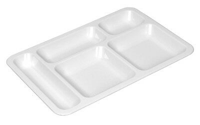 TemoWare Polycarbonate Food Compartment Tray Size:398(L)x 279(W)x 28(D)mm