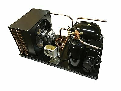 New! Indoor Condensing Unit, 7/8 HP, High Temp, R404a, 115V (Embraco NT6222GKV1)