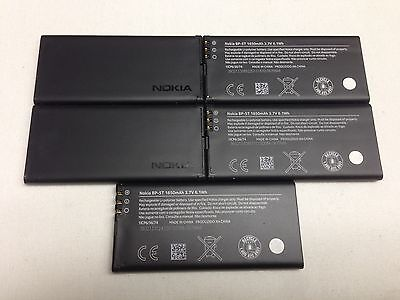 LOT OF 5 OEM NOKIA BP-5T BATTERY FOR NOKIA LUMIA 820 ORIGINAL GENUINE 1650 mAh