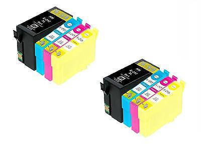 8 PK New T252XL 252XL Ink CARTRIDGE FOR Epson Workforce WF 3620 3640 5190 5620